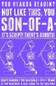 script poster purple