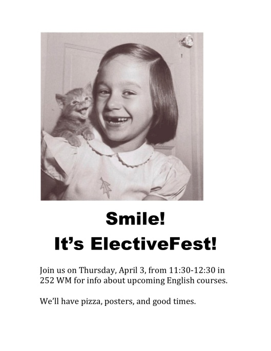 electivefest spring 14