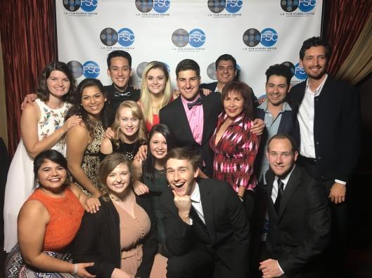 The La Promesa cast and crew at the premier