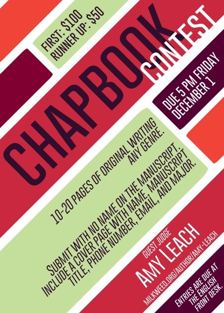Chapbook Poster
